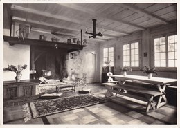 Postcard WAGGGS Girl Guide Girl Scout Chalet International Adelboden Our Chalet Esszimmer Mit Kamin My Ref  B22988 - Scouting