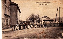 Liverdun. Place De La Gare. - Liverdun