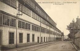 - Dpts Div.-ref-AC313- Haut Rhin Ou Territoire De Belfort - Beaucourt - Usines Jappy - Horlogerie - Usine - Industrie - Beaucourt