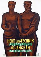 @@@ MAGNET - Heim Und Technik Ausstellung Muenchen - Advertising