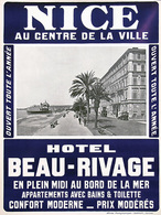 @@@ MAGNET - Hotel Beau-Rivage Nice - Advertising