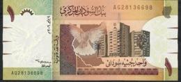 SUDAN    P64  1  POUND  2006   #AG    UNC. - Soedan
