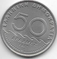 *greece 50 Drachme 1982  Km 147 - Griekenland