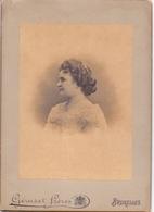 Foto  Photo Carton - Vrouw Femme - Photographe Géruzet Frères - Bruxelles - Non Classés