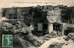 3464 -2018 LA LUSTRE PRES TAURIAC DE MOIRON  ENTREE DES CARRIERES - Autres Communes