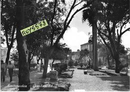 Lazio-civitavecchia Giardino Del Pincio Veduta Animata Anni 50/60 - Civitavecchia