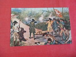 Lexington & Concord 1775 Battle At The Old North Bridge Mass   Ref 3065 - History