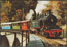 Le Petit Train De Blonay-Chamby, Mallet Locomotive No 104 - Perrochet CPM - Trains