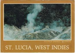 St. Lucia, West Indies - Sulphur Springs, Soufriere - Saint Lucia