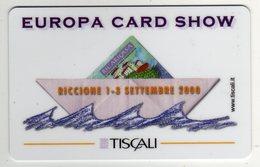 Tiscali Europa Card Show 2000 Scheda Telefonica Nuova Barca - Francobolli & Monete