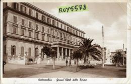 Lazio-civitavecchia Grand Hotel Delle Terme Veduta Anni 30/40 (vedi Retro) - Civitavecchia