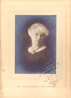 Photo Foto Op Karton - Vrouw Femme - Fotograaf Vander Sypt - Boute - Gent - 1926 - Non Classés