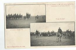 Militaires Revue De Printemps 23 Mai 1907 Par Le General Pau Editeur Nancy L'arrivée Du General - Militaria