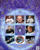 Moldova 2018, Space, Soyuz-Apollo, Sheetlet Of 8v - Moldavie