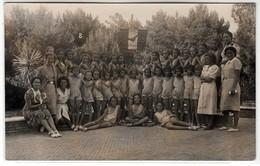 CALAMBRONE PISA COLONIA MARINA PER I FIGLI DEI FERROVIERI - VILLA ROSA MALTONI MUSSOLINI 1937 - Anonymous Persons