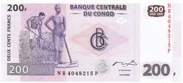 Congo - Pick 99a - 200 Francs 2007 - Unc - Congo