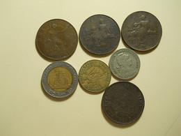 Lot 7 Coins - Monnaies & Billets