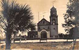 REYNOSA TAMPS MEXICO~TEMPLO PARROQUIAL CATHOLIC CHURCH- REAL PHOTO POSTCARD 33901 - Mexico