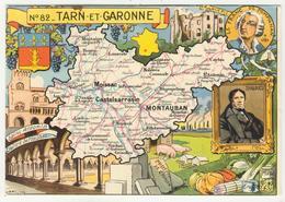 82 - Tarn-et-Garonne     Par J.P. Pinchon - Otros Ilustradores