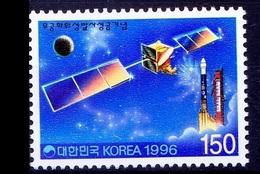 South Korea 1996 MNH, Space, Mugunghwa Satellite - Space