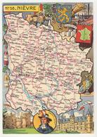58 - Nièvre   Par J.P. Pinchon - Andere Illustrators
