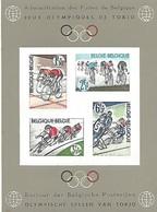 BELGIQUE Feuillet De Luxe LX41 - JP Tokyo - Cyclisme - Cyclisme