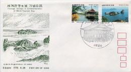REPUBLIC  OF  KOREA   -   FDC  -  WORLD  TOURISM  DAY  '78 - Corea Del Sud
