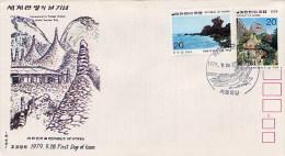 REPUBLIC  OF  KOREA   -   FDC  -  WORLD  TOURISM  DAY  '79 - Corea Del Sud