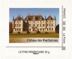 """FRANCE 2012 Collector """" Coup D'œil Sur La Lorraine """" :  Château Des Monthairons - Neuf **  (adhésif) - France"""