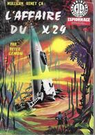 L'affaire Du X29 Par Peter Lemon - Daniber N°13 (illustration : Jeff De Wulf ) - Daniber
