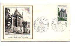 FDC 1971 SAINTE CHAPELLE DE RIOM - FDC