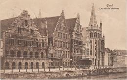 CPA - AK Gand Gent Les Vieilles Maisons Flamandes Eglise Cathedrale Canal Vlaanderen Flandern Belgien Belgique - Gent