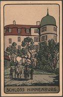 Schloss Hinnenburg, Brakel, 1929 - Emil Ruthe AK - Brakel