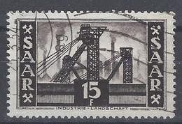 Sarre U 322 (o) Usado. 1953 - 1947-56 Ocupación Aliada