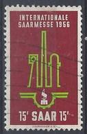Sarre U 350 (o) Usado. 1956 - 1947-56 Ocupación Aliada