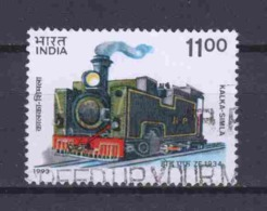 India 1993 Mi 1390 Canceled TRAINS - Used Stamps