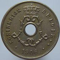 Belgium 5 Centimes 1906 XF - 1865-1909: Leopold II