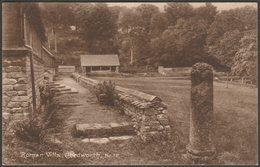 Roman Villa, Chedworth, Gloucestershire, C.1920s - W Dennis Moss RP Postcard - England