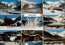 OBERWALD Goms Bahn Auto Ski - VS Valais