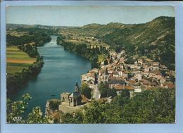 Laroque-des-Arcs (34) Séduisant Village Au Bord Du Lot Au Fond, Cahors 2 Scans Vue Générale Aérienne - Other Municipalities