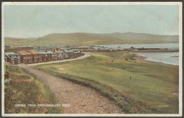 Girvan From Knockavalley Walk, Ayrshire, C.1930s - Valentine's Postcard - Ayrshire