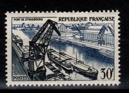 YV 1080 N** Port De Strasbourg Cote 17 Euros - Francia