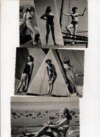 Beau Lot De 19 Cartes Postales Semi Modernes Pin Up Collection Bath Girls , Maillots Bain - Cartes Postales