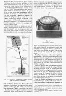 """LA BOUSSOLE Et L'AVIATION à PROPOS DU VOYAGE  """" PARIS-PUY DE DOME """"  1911 - Transportation"""