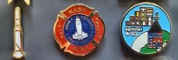- LOT PINS NASA X 3 - JFK - APOLLO - ESA (23) - Space
