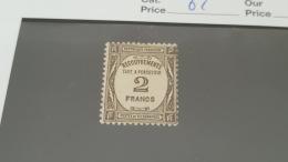 LOT 414268 TIMBRE DE FRANCE NEUF* N°62 VALEUR 180 EUROS - Segnatasse
