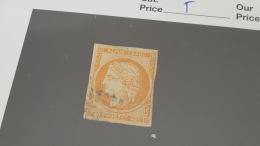 LOT 414270 TIMBRE DE FRANCE OBLITERE N°5 VALEUR 500 EUROS - 1849-1850 Cérès