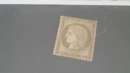 LOT 414279 TIMBRE DE FRANCE NEUF* N°56 VALEUR 1100 EUROS - 1871-1875 Cérès