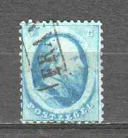 Netherlands 1864 NVPH 4 Canceled (8) - Gebraucht