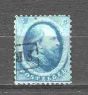Netherlands 1864 NVPH 4 Canceled (7) - Gebraucht